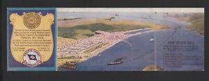 1915 PAN-PACIFIC EXPOSITION Folding Postcard