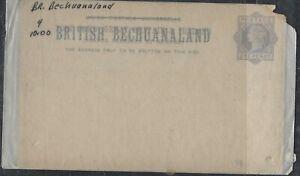 BECHUANALAND COVER (P1904B)  QV   1 D PSC UNUSED BK 4
