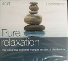 PURE... RELAXATION ~ DECONTRACTION - 4 CD ZEN MUSIC