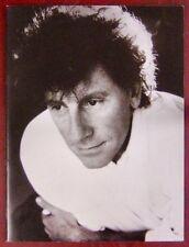 Alain Souchon Programme concert 1989