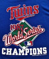 Vintage 80's Minnesota Twins World Series Champions MLB Baseball by Champion USA