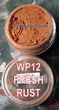 WP12 DAVART DAVE'S WEATHERING POWDERS ALL NATURAL PIGMENT BRIGHT FRESH RUST