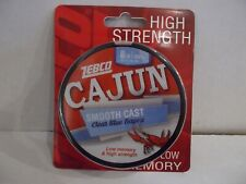 Zebco Cajun Clear Blue Bayou fishing line 8 lb test 330 yards NIP