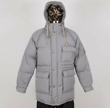 Men's Winter Down Jacket Size L Large Hood Insulated ST. JOHN'S BAY