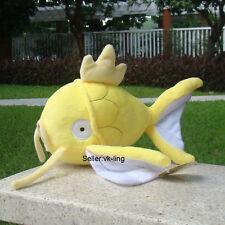 "Pokemon Center Go Plush Toy Yellow Magikarp Fish 9"" Soft Stuffed Animal Doll"