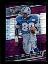 BARRY SANDERS 2016 PANINI THE NATIONAL VIP PURPLE PRIZM REFRACTOR #37/50 AB7467