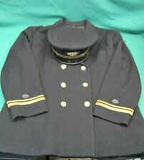 Vintage US Navy Officers Jacket And Hat Lieutenant Named Private Purchase (1)