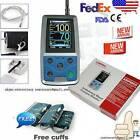 US Ambulatory Blood Pressure Monitor+USB Software 24h NIBP Holter,free 3 cuffs