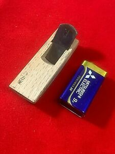 Japanese Ultra Mini Hand plane 18mm Shihou-sori  Wood working tool carved wood
