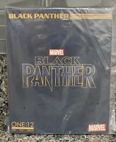 NEW MEZCO TOYZ ONE:12 COLLECTIVE MARVEL BLACK PANTHER COLLECTIBLE ACTION FIGURE