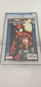Ultimate Spider-Man #78 CGC 9.8 White Pages Bendis Bagley DIRECT EDITION MARVEL