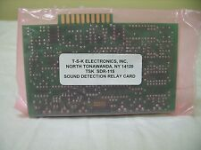 T-S-K Electronics Surveillance Sound Detection Relay Card Board SDR-D / SDR-115