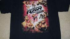 "WWE ""RAW"" Best of 2009 T-Shirt Size XL - WWF John Cena  -Shawn Michaels DVD"
