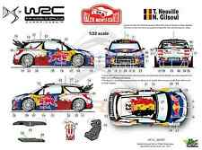 [FFSMC Productions] Decals 1/32 Citroën DS3 WRC Neuville Monte-Carlo 2012