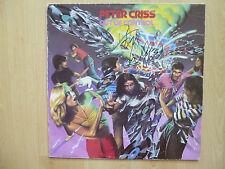 "Peter Criss ""KISS"" AUTOGRAFO SIGNED LP-COVER ""Out of Control"" vinile"