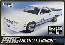 MPC 1986 Chevrolet El Camino  1:25 Scale Model Kit
