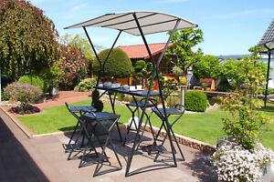 Leco Gartenbar Gartentheke Hocker Terrasse Bar Gartenmöbel Set Lounge