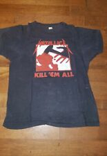 Metallica Vintage Kill em All  1984 shirt original