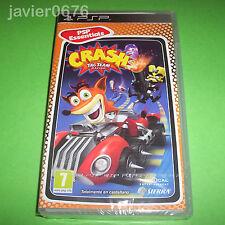 CRASH TAG TEAM RACING NUEVO PRECINTADO PAL ESPAÑA PLAYSTATION PSP BANDICOOT