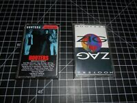 2 Classic Rock Music Vintage Audio Cassette Tapes By The Hooters CBS Records