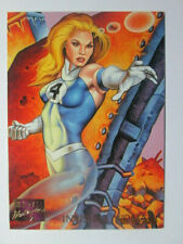1995 MARVEL MASTERPIECES - BASE CARD - INVISIBLE WOMAN # 51