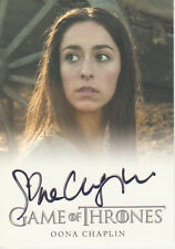 Oona Castilla Chaplin ++ Autogramm ++ Game of Thrones ++ James Bond ++ The Hour