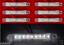 6x 9 LEDs 12V BLANC Côté Avant Feux De Position Camping-car Camion Caravane SUV