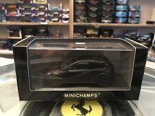 Minichamps Ford Focus RS500 Matt Black 2010 1/43 MIB Ltd Ed 400 088104