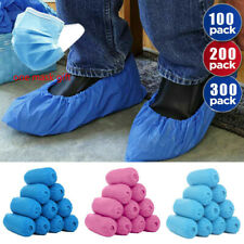 Disposable Shoe Covers Nonskid Medical Booties Overshoes Covers Floor Protectors