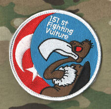 F-16 FALCON SWIRL INSIGNIA: TURKISH AF 151st FIGHTING VULTURE SQN (TUNC FILO)