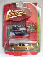 Johnny Lightning 73 1973 Chevy Caprice Estate Gold Station Wagon Those 70's Cars