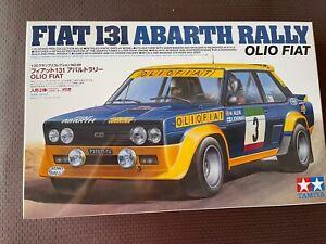 TAMIYA - 1/20 Fiat 131 Abarth Rally