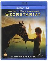 Secretariat (Blu-ray/DVD, 2011, 2-Disc Set) Brand New