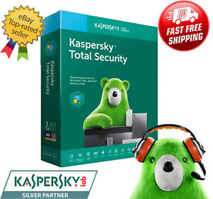 Kaspersky Total Security 2021 Activation License 6 months 1 Year // 1, 2 Devices