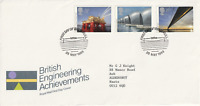 25 MAY 1983 ENGINEERING ACHIEVEMENTS ROYAL MAIL FIRST DAY COVER HULL SHS