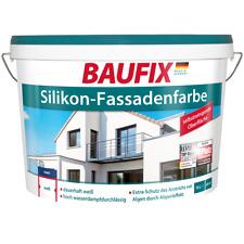 Baufix Silikon-fassadenfarbe weiß 10 Liter