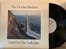 The Doobie Brothers – Livin' On The Fault Line LP 1977 Warner Bros BSK 3045 VG+