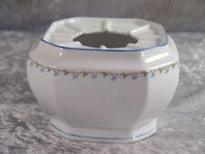 Seltmann Weiden Porzellan ANDREA Stövchen blaue Ranke Tulpenranke Warmer Rechaud