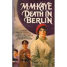 DEATH IN BERLIN M. M. Kaye PB 1986 K2-2