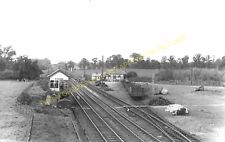 Spetchley Railway Station Photo. Wadborough - Dunhampstead. Worcester Area. (1)