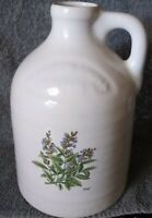 "CLINTON CHINA:Harris Potteries of Chicago SAGE 9""  Water Pitcher Jug FREE SHIP!"
