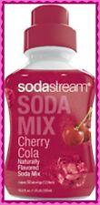 Cherry Cola SODASTREAM CONCENTRATE SODA MIX SYRUP 16.9oz 500ml 12liter 50 serv