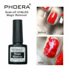 PHOERA Nail Gel Polish Burst Magic Remover Off UV LED Kit Soak Delete Primer UK
