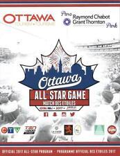 2017 All-Star Game Ottawa CanAm American Association Baseball Program