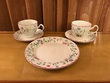 5 pc JOHNSON BROTHERS England 1883 SUMMER CHINTZ  1 SALAD PLATE 2 CUPS & SAUCERS