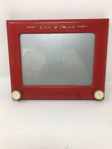 Vintage Magic Red Etch-A-Sketch 505 By Ohio Art
