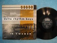 Delta Rhythm Boys In Sweden, Jubilee Records 1022, Doo Wop