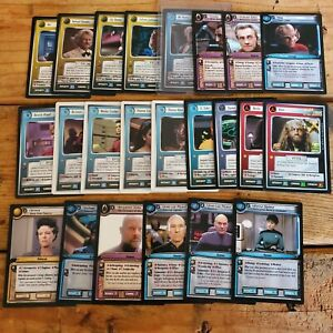 Star Trek CCG Lot, 23 cards, all rares