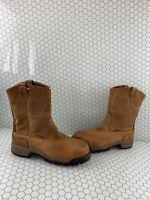 WOLVERINE Gear EH Leather Waterproof COMP Toe Wellington Work Boots Men's 13 M