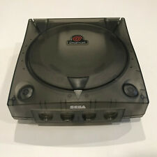 SEGA Dreamcast Console 3rd Party Translucent Case Shell Smoke Black Gray